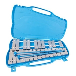 Blue Sky Metallofono Glockenspiel 25 Piastre Cromate