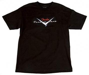 Fender T-Shirt Custom Shop Black Large