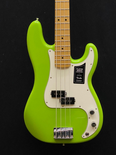 FENDER PRECISION PLAYER LIMITED ELECTRON GREEN BASSO ELETTRICO 0