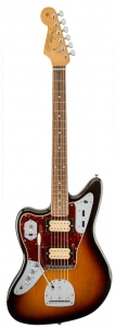 FENDER KURT COBAIN JAGUAR 3 COLOR SUNBURST MANCINA