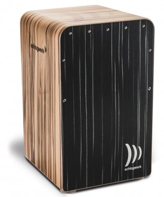 Schlagwerk Cp 608 - cajon fineline comfort dark night