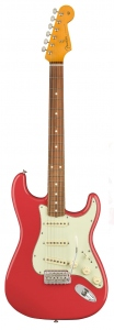 FENDER CLASSIC SERIES '60S STRATOCASTER LACQUER RED