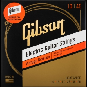 Gibson Vintage Reissue Muta Nickel Per Chitarra Elettrica 10-46