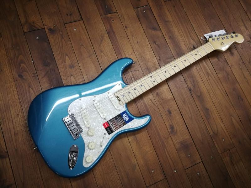 Fender american elite stratocaster ocean turquoise