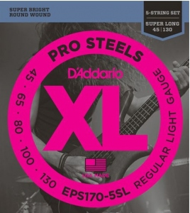 D'ADDARIO EPS 170-5SL 5C SUPER LONG SCALE 045-130