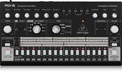 Behringer Rd6 BK Analog Drum Machine