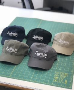 SADOWSKY BASEBALL CAP BLUE