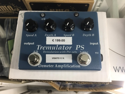 Demeter Amplification Tremulator PS Usato