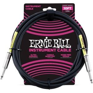ERNIE BALL 6048 CAVO NERO JACK 3MT