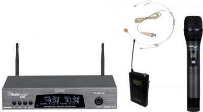 AUDIODESIGN PMU31 SET MICROFONI WIRELESS