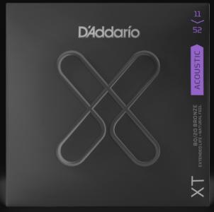 D'ADDARIO XTABR1152 XT 11-52 8020 BRONZE PER CHITARRA ACUSTICA