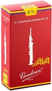 Vandoren Ance Sax Soprano Java Red 2,5