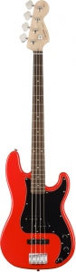 SQUIER AFFINITY PRECISION BASS PJ RED