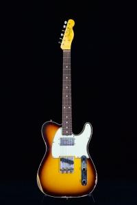 Fender Limited Cunife Telecaster Custom Relic Rw 3 Color Sunburst
