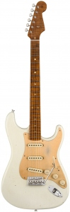FENDER LIMITED 58 SPECIAL STRATOCASTER JOURNEYMAN RELIC AGED OLYMPIC WHITE