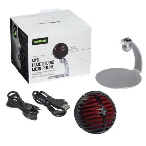 Shure Mv5 B Dig Microfono Condensatore per Home Studio