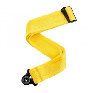 D'Addario 50Bal07 Auto Lock Guitar Strap Mellow Yellow