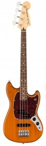 FENDER PLAYER MUSTANG BASS PJ PRECISION JAZZ AGED NATURAL