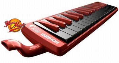 HOHNER MELODICA FIRE 32 RED/BLACK