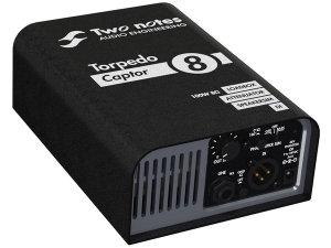 Two Notes Torpedo Captor 8 Ohms - Loadbox, attenuatore e simulatore di cassa analogico