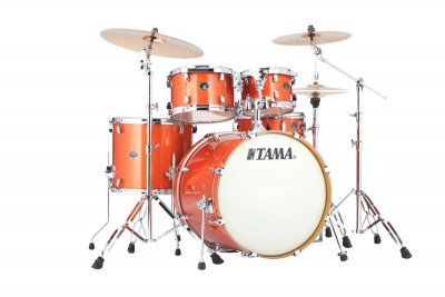 Tama vd52krs bos shell kit silver arancione sparkle