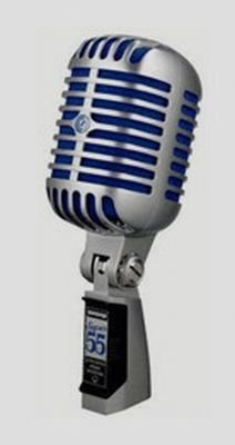 SHURE SM55 SUPER 55 MICROFONO DINAMICO