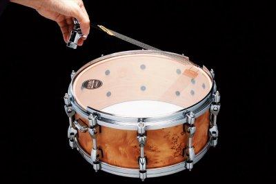 """Tama Mgh14s - cerchio grooved hoop 14"""" x rullante lato cordiera - cromato"""