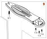 Tama Hp919 - pedana completa pedale speed cobra (per modelli fino al 2015 incluso)