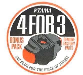 TAMA QC8 B4 SET QC8 4 FOR 3