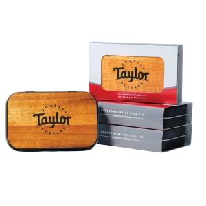 Taylor DarkTone Pick Tin Koa Collector 9 Pz Misti