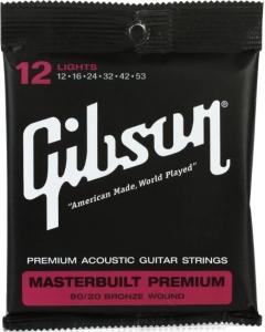 GIBSON SAG-BRS12 MASTERBUILT PREMIUM 80-20 BRONZE 12-53