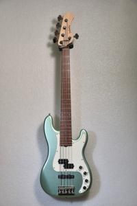Sadowsky Metroline Pj Bass 5 21 Hybrid Sage Green Satin