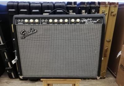 Fender Vibrolux reverb amp custom usato