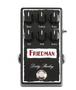 FRIEDMAN DIRTY SHERLEY OVERDRIVE PEDALE EFFETTO