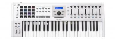 ARTURIA KEYLAB MKII 49 WHITE + V COLLECTION 6 OMAGGIO CONTROLLER MIDI