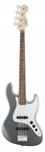 SQUIER AFFINITY JAZZ BASS LAUREL SICK SILVER
