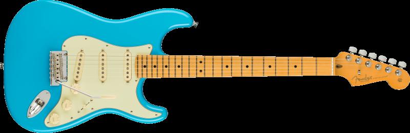 Fender American Professional Ii Stratocaster Maple Miami Blue