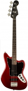 Squier Vintage Modified Jaguar Bass Candy Apple Red Short Scale