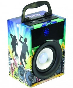 BST BY EGO TECHNOLOGIES PARTY DISCO 1 SPEAKER BLUETOOTH 10W