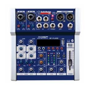 Audiodesign Pamx231 Mixer Usb Bt  16 Effetti con Dsp