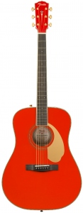 FENDER PM1E DREADNOUGHT LIMITED FIESTA RED