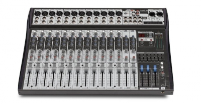 AUDIODESIGN PAMX2 122UHF MIXER ULTRA COMPATTO