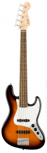 SQUIER AFFINITY JAZZ BASS V BROWN SUNBURST