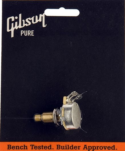 GIBSON 500K OHM AUDIO TAPER/ PUSH-PULL