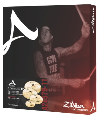 ZILDJIAN SET A CUSTOM 5 A20579-11