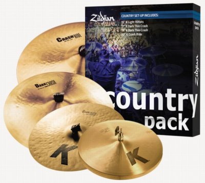 ZILDJIAN SET COUNTRY K081C