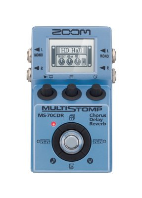 ZOOM MS-70CDR PEDALE EFFETTO  MULTIEFFETTO