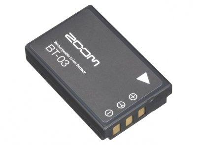 Zoom Bt-03 - batteria ricaricabile agli ioni di litio per q8
