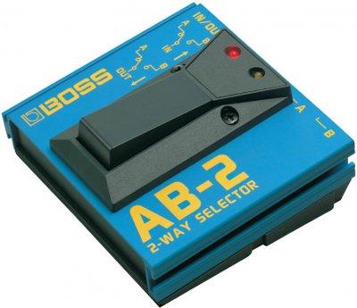Boss Ab-2 Pedale Effetto Selettore A 2 Vie