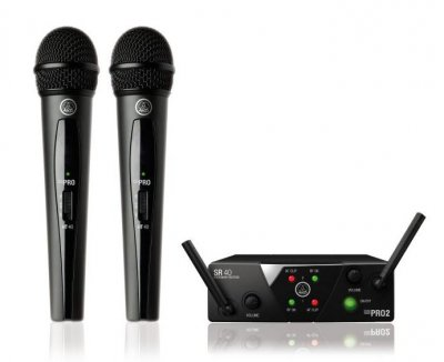 AKG WMS MINI PRO 2 VOCAL SET ISM 2/3